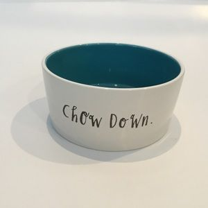 Rae Dunn Pet Bowl Chow Down
